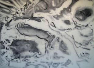 Alien Dreamtime, 2007, 110x150cm