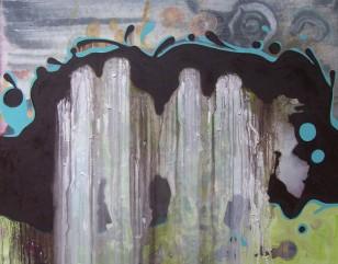 masoni znad jeziora, 2007, 73x92cm