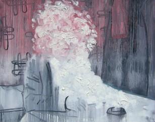palec w oku, 2007, 81x100cm