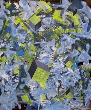 local reason, 2008, 140x110cm