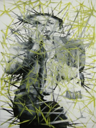 Houllebecq (Whatever), 2008, 81x60cm