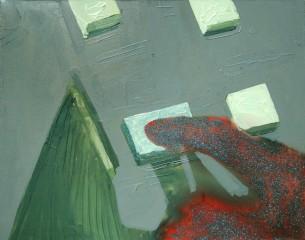 przycisk do resetowania rzeczywistości, 2009, 40x50cm