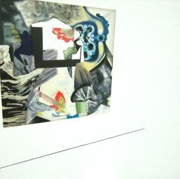 3 lata pracy intelektualnej, 2010, 150x150cm