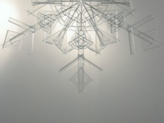 snowflake, 2010, rulers, squares, protractors, 2/3