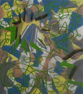 afterparty, 2011, 180x160cm