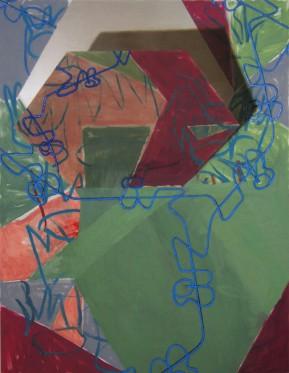 hex, 2011, 220x170cm