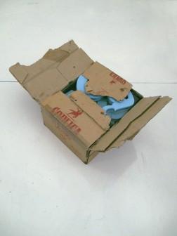 poliszbox, 2011, karton po wódce, styrodur, żywica epoksydowa, 2/2