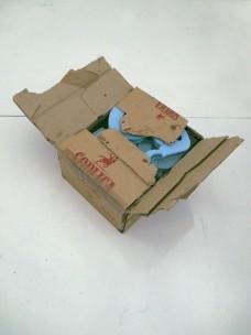 polishbox, 2011, vodka cardboard, epoxy resin, styrodur, 2/2