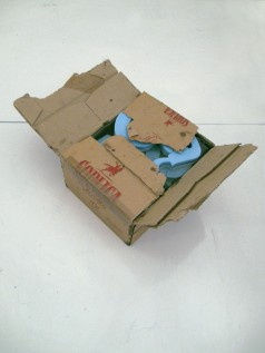 polishbox, 2011, vodka cardboard, epoxy resin, styrodur, 2/2