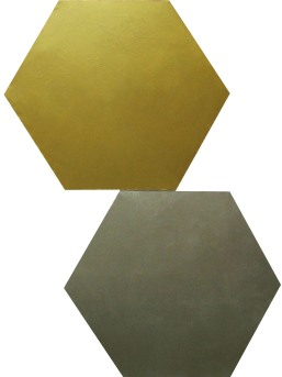 srebrnozłoty, 2011, max 220x158cm