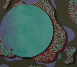 guma do żucia dla oczu, 2012, 140x160cm