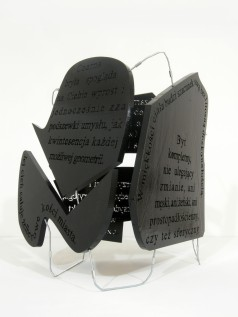 black block, 2012, styrodur, steel, 1/3