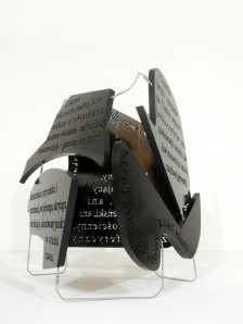 black block, 2012, styrodur, steel, 2/3
