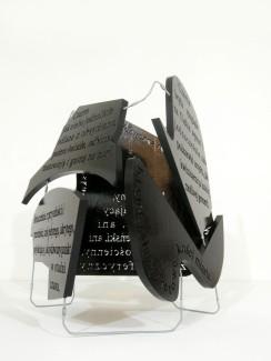 black block, 2012, styrodur, steel, 2/3