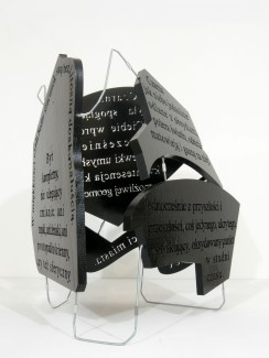black block, 2012, styrodur, steel, 3/3