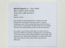 captions under the works in Mocak, 2012, print, 3/3