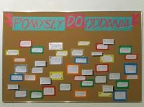 pomysły do oddania, 2012, pomysły na sztukę, tablica korkowa