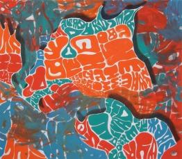 namegiver, 2012, 140x160cm