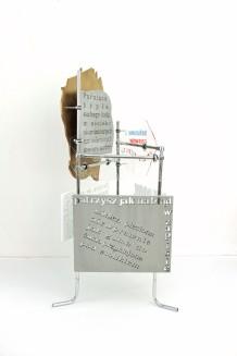 fervex, 2013, styrodur, cardboard, plexiglass, steel 2/6