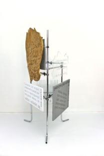 fervex, 2013, styrodur, cardboard, plexiglass, steel 3/6