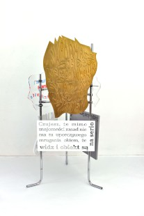 fervex, 2013, styrodur, tektura, pleksiglas, stal 4/6