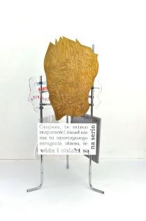 fervex, 2013, styrodur, cardboard, plexiglass, steel 4/6