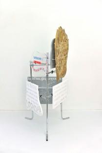 fervex, 2013, styrodur, cardboard, plexiglass, steel 5/6