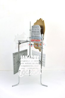 fervex, 2013, styrodur, cardboard, plexiglass, steel 6/6