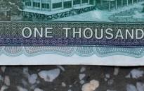 tu byłem Józef Tkaczuk, 2013, banknot, 3/3 (detal)