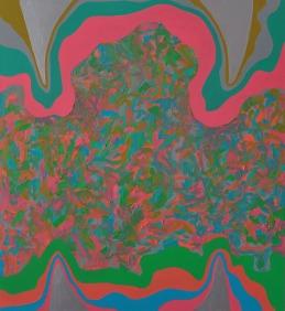 ugryzienie abstrakcji, 2016, 120x110cm