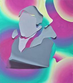 Houellebecq (Serotonina), 2019, 125x110cm