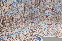 skóra papierowego potwora, 2020, mural